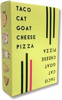 Wholesale toy goats resale online - Taco Cat Goat Cheese Pizza Card Game Board Game Party Card DHL Shipping