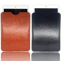 Wholesale apple ipad mini sleeve resale online - 9 Ipad Bag Universal Pouch Case Apple inch Tablet Mini Leather Pu Portable Cover Sleeve Protective Besegad Shockproof For Pc XwNnO