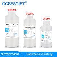 Sublimation Coating For Cotton Fabric Mugs Glass Ceramic Metal Wood Sublimation Ink Pretreatment Liquid (3 Capacity Options)