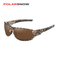 Wholesale camo sunglasses resale online - POLARSNOW New Camo Frame Polarized Sunglasses High Quality Goggle Men Women Sun Glasses UV400 Eyewear Oculos masculino