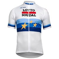 Wholesale lotto men cycling jersey for sale - Group buy LOTTO Pro Team Men Cycling Jersey Short Sleeve Shirts ropa de ciclismo uniformes Breathable MTB Bicycle Clothes Bike Clothing