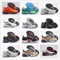 Wholesale running shoes femme resale online - 2020 TN Plus Decon WMNS Running Shoes Women Mens Tns GS Sneakers des Chaussures Hommes femme Requin Sports Zapatillas Size