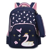 Wholesale cute bags teens for sale - Group buy Cute Cartoon Embroidery School for Teen Boys Girls Large Capacity Student Bag Simple Splash proof Backpack Sweet Backpacks