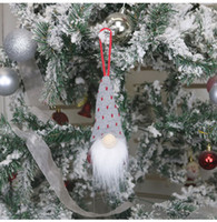 Wholesale christmas elf for sale - Group buy Christmas Decoration Handmade Swedish Gnome Scandinavian Tomte Santa Nisse Nordic Plush Elf Toy Christmas Tree Ornament Xmas EEC2885