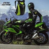 Wholesale motorbike tank bag resale online - Carbon Fiber Black Men Motorcycle Bag Waterproof Motorcycle Backpack Touring Luggage Bag Motorbike Bags Moto Magnetic Tank Bag Mochila Moto