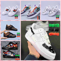 Wholesale all black shoes for sale - Group buy free delivery Men Low Skateboard Shoes Cheap New Designer One Dunk Knit Euro Air High Women All White Black Red green Trainer Sports Shoes