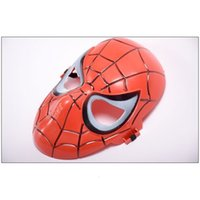 ingrosso maschere di ragno-Guardia Man Mask Movie per Prop Party Face Hero Teatro Guy Spider Mask Costume Cosplay VXJGK