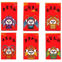 Wholesale chinese red envelopes for sale - Group buy New Spring Festival Wedding Money Gift Box Gift Bags Novel Chinese Red Envelopes Lucky Packets Red Packet For New Year