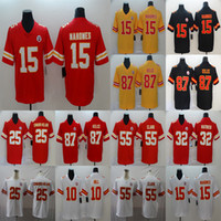 Wholesale chief jersey for sale - Group buy Travis Kelce Patrick Mahomes Kansas City Chiefs Clyde Edwards Helaire Chris Jones Football Limited Jersey