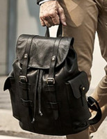 Damier Backpack Toile Macassar Christopher PM Man Backpack Real Leather Bland Men Backpack