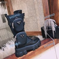 Wholesale 2020 fashion high quality women s design casual fashion boots black motorcycle boots military inspired combat boots nylon straps attached t