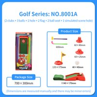 Wholesale bowling balls sale resale online - 2020 hot sale Children s golf club set Baby bowling boys and Girls Indoor Sports Kindergarten sports ball toys