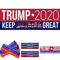 Wholesale cars cm resale online - Trump Car Sticker cm Bumper Sticker Keep Make America Great Again Sticker President General Election Vehicle Decal EWF1157