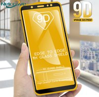 Wholesale galaxy s5 full for sale – best 9D Screen Protector for Samsung Galaxy A6 A8 A8 A3 A5 A7 A6 A520 a720 A310 A510 a710 full set Gule screen protector
