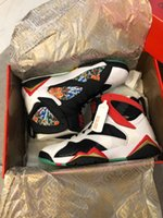 Wholesale china athletic basketball shoes resale online - Jumpman s Gc China Womens Mens Basketball Shoes White chile Red black metallic Gold Athletic Sport Designer Sneakers Us7 ivm