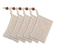 Natural Exfoliating Mesh Soap Saver Sisal Soap Saver Bag Pouch Holder For Shower Bath Foaming And Drying Free DHL