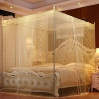 Wholesale butterflies bedding resale online - Home Textile Butterfly Prevention Mosquitoe Net Princess Bed Palace Mosquito Net Mosquito Repeller Net for Three Door VT0150