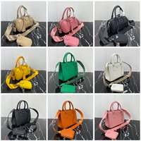 Wholesale fiber gold resale online - Top quality Fashion women shoulder bag Genuine Leather Chest pack lady Tote handbags presbyopic purse messenger crossbody bag