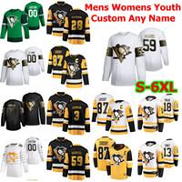 Wholesale hockey 5xl for sale - Group buy S XL All Star Pittsburgh Penguins Hockey Jersey Sidney Crosby Evgeni Malkin Kris Letang Jake Guentzel Matt Murray Custom Stitch