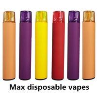 Wholesale Max Disposable Vape Pen Large Vapes Starter Kits ml Capacity Disposable E cigarettes Device Pod Kits Empty Custom Made Vapor