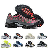Wholesale running shoes for mens for sale - Group buy Tn Plus Running Shoes SE Ultra Mens Designer High Quality Air Sneakers Classic Retro Trainers Size for Male