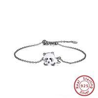 Wholesale panda bracelet for sale - Group buy 3Jozk jewelry Sterling DiamondBracelet Diamond Silver uJfJk diamond bracelet Korean temperament Rinntin zircon girl hand jewelry panda