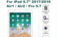Wholesale glass for ipad screen protector th th th gen air a1893 a1954 protective tempered glas pro a1822 a1823 newstore news