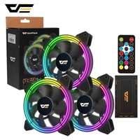 Wholesale cpu fan asus resale online - darkFlash CF11 Pro RGB PC Case Fan mm Computer Case CPU Cooling Fan Quiet Asus Aura Sync Cooler Adjust Speed LED PC Cool