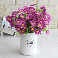 Wholesale asters flowers for sale - Group buy Fake Asters stems bunch quot Length Simulation China Asters for Wedding Home Decorative Artificial Flowers
