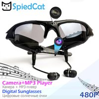 Wholesale mp3 player video recorder for sale - Group buy MP3 Player Sunglasses Mini Camera Polarized Headset Digital Recorder DVR CAM Sport Video Outdoor