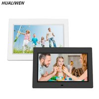 Wholesale media player for mp3 resale online - 10 HD Digital Photo Frame Picture Mult Media Player MP3 MP4 Alarm Clock For Gift