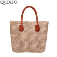 Wholesale bohemian totes for sale - Group buy 2020 New Fashion Weaving Women s Tote Bags Large Capacity Summer Straw Bag Bohemian Beach Bags Casual Handbags For Lady LHC03