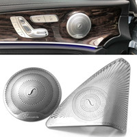 Wholesale mp3 covers resale online - 2020 Car Door Audio Speaker Tweeter Decoration Cover For Mercedes Benz E Class W213 Car Styling
