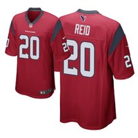 Wholesale Men s Football Jersey Houston Texans Jersey Justin Reid Navy Red Game Jersey Limited Jersey