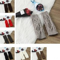 Wholesale hand gloves for girls resale online - Knitted Long Hand Gloves Women s Warm Embroidered Winter Gloves Fingerless For Women Girl Guantes Invierno Mujer Luvas