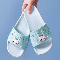 Wholesale cartoon flip man resale online - Ins Women Summer Fashion Slippers Slide Sandals Beach Slides Flip Flops Cartoon Elves Soft Sole Women Men Couple Ladies Shoes X1020