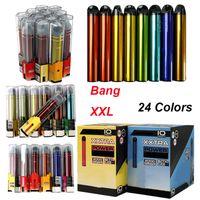 2000Puffs Bang XXL XXTRA Disposable Vape Pens Pre_filled 6ml Device Pods 800mAh Empty Starter E Cigarettes Kits 24 Colors
