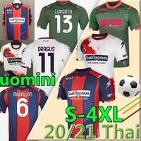 3XL 4XL 2021 FC CROTONE soccer jerseys Home away BENALI 10 EDUARDO MESSIAS JERSEY Pitagorici Men uomini FOOTBALL SHIRTS uniforms THAI