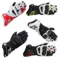 Wholesale motocross gloves sale resale online - the hot sale Motocross rider riding gloves motorcycle racing bike outdoor gloves PRO new leather