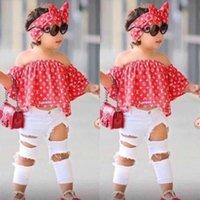 Wholesale designer kids clothes boutique for sale - Group buy Summer Suit Fashion Set Baby Clothes Pant Top Two Girls Boutique Kids Piece Girls Children Outfits Xmcvr