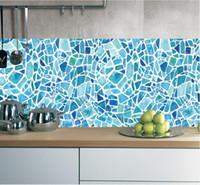 Wholesale ceramic tile adhesive resale online - Baroque Style Ceramic Tiles Retro Wallpaper Wall Decals Home Living Room Bedroom Kitchen Decoration Toilet Bathroom Tile Wallpaper Adhesive