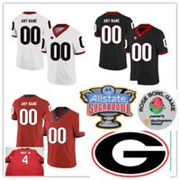 Wholesale clay s for sale - Group buy Custom Georgia Bulldogs Football Jersey MJ Sherman James Cook Kendall Milton Rian Davis Carson Beck Clay Webb Adam Anderson Georgia Jersey