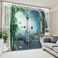 Wholesale roman shades for sale - Group buy Top Classic D European Style roman custom curtain fashion decor home decoration for bedroom