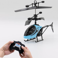 Wholesale airplane remote control resale online - Electric remote control airplane with Light Mini airplane stunt helicopter children s toys children s gifts simulation Helicopter
