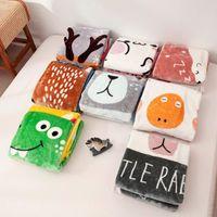Wholesale textile blankets resale online - Baby Blanket Nap Blankets Cartoon Children Fluffy Throw Blanket Soft Skin Friendly Baby Cartoon Blankets Home Textiles cm BWB2641