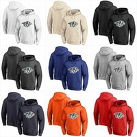 Wholesale hockey player for sale - Group buy Men Nashville Predators Hoodies Jerseys Stitched Embroidery Hockey Any Player or Number Stitch Sewn Hoodies Jerseys Sweatshirts