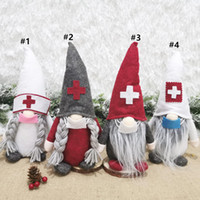 Wholesale christmas windows decorations for sale - Group buy Christmas Decorations Doctors Doll Santa Claus Doll Cartoon Christmas Sprite Toys Decoration Window Scene Layout GWA2287
