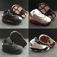 Wholesale sneaker girls resale online - Shoes Jumpman Xiii Basketball Cheap Kids Children s Sports Boys Girls Youths Little Baby Athletic Sneakers Baby Birthday Gift