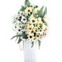Wholesale asters flowers resale online - Flowers Daisy A9830 Aster Artificial Flower Heads Bouquet Silk Fake Flores Wedding Garden Decoration Diy Small Gerbera bbyCzI bdesports