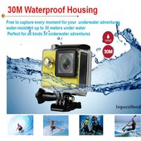 Wholesale sport camera chargers resale online - Action camera Original EKEN H9 Ultra HD K WiFi HDMI P LCD D pro Sports waterproof Extra Battery Dock Charger